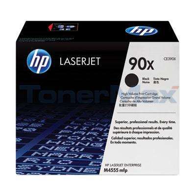 HP LASERJET M4555 MFP TONER CARTRIDGE BLACK 24K